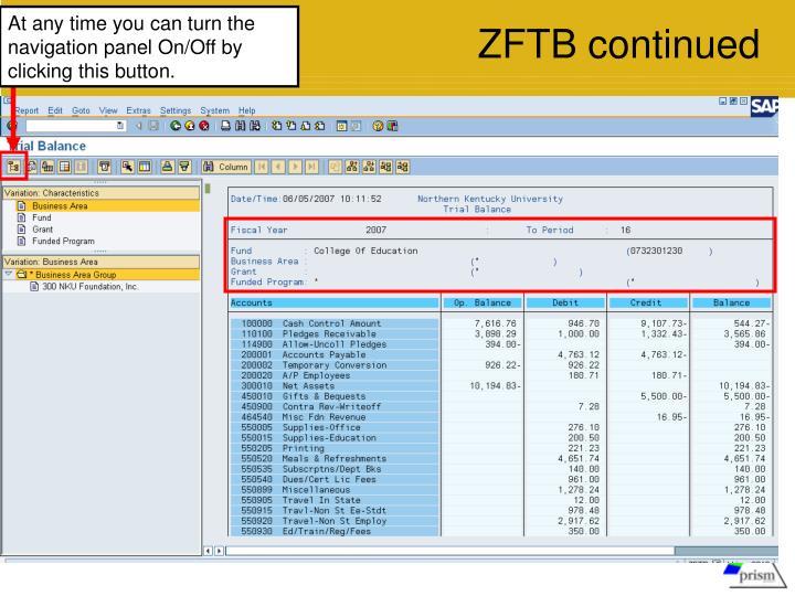 ZFTB continued