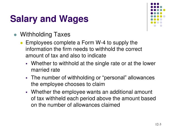 Salary and wages1
