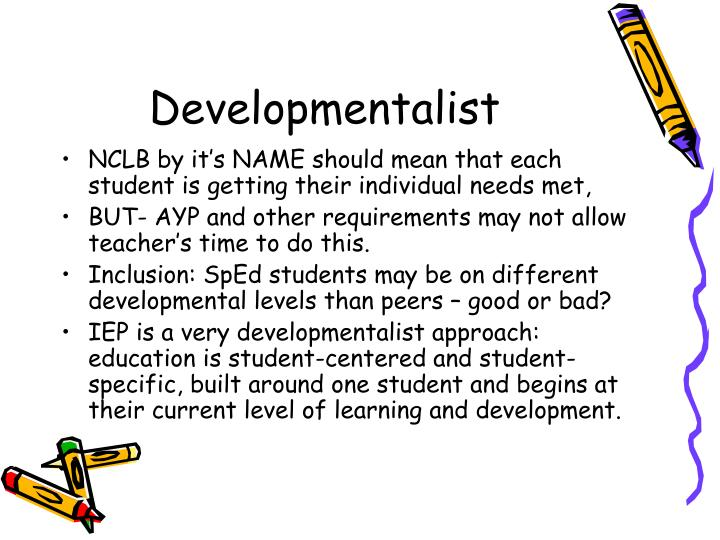 Developmentalist