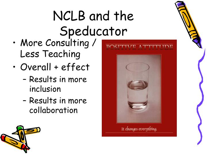 NCLB and the Speducator