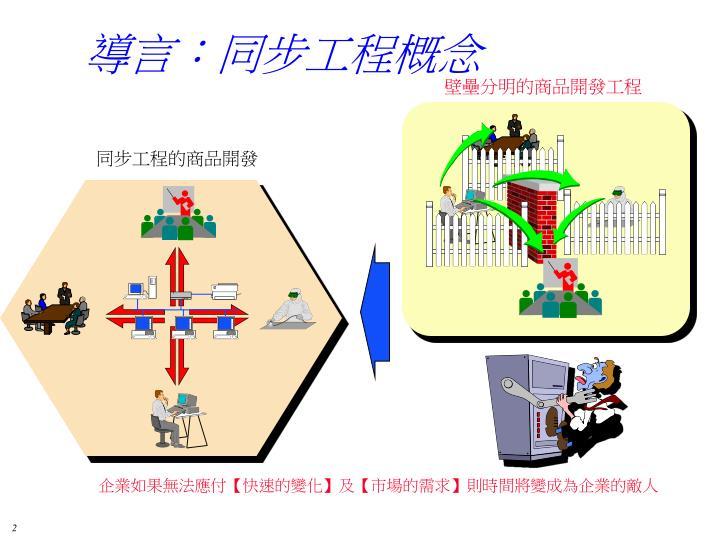 導言:同步工程概念