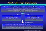apex ami trial study design
