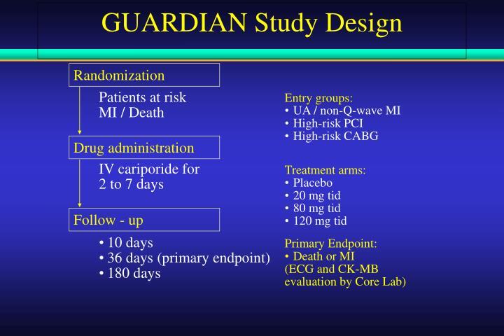 GUARDIAN Study Design