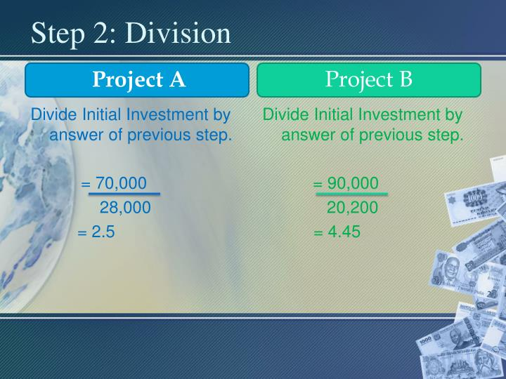 Step 2: Division