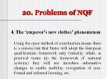 20 problems of nqf4