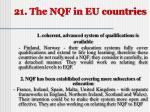 21 the nqf in eu countries