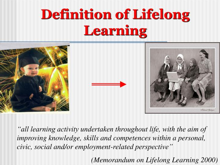 Definition of Lifelong Learning