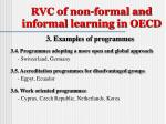 rvc of non formal and informal learning in oecd4