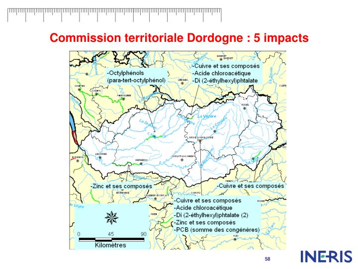 Commission territoriale Dordogne : 5 impacts