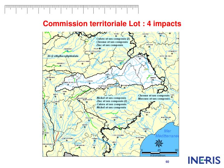 Commission territoriale Lot : 4 impacts