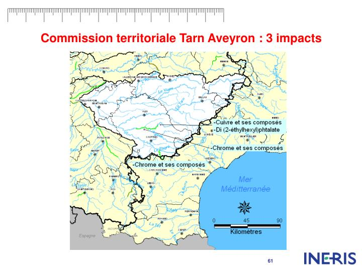 Commission territoriale Tarn Aveyron : 3 impacts
