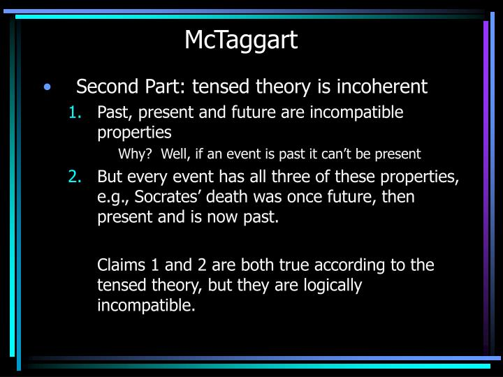 McTaggart