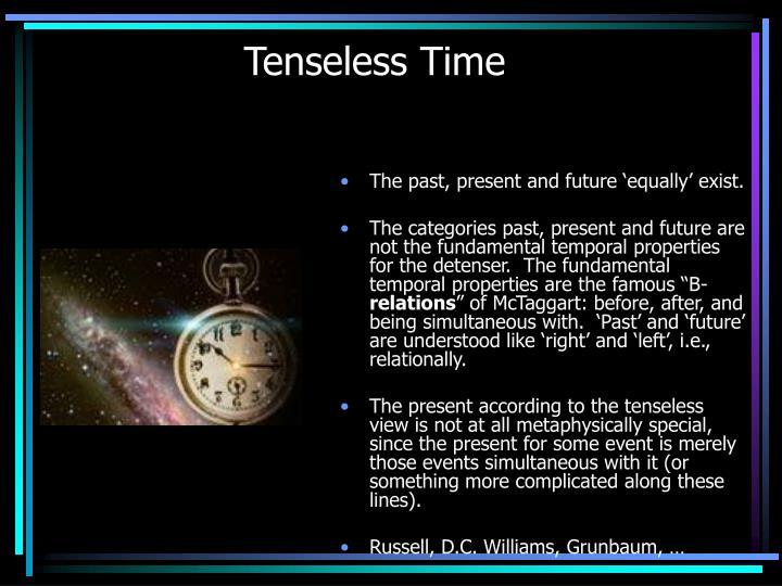 Tenseless Time