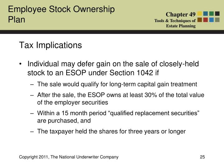 Tax implications of stock options for employers