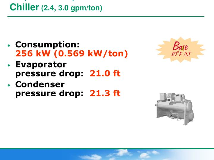 example chilled water plant …