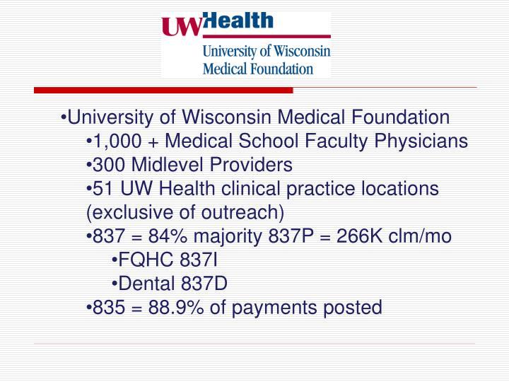 University of Wisconsin Medical Foundation