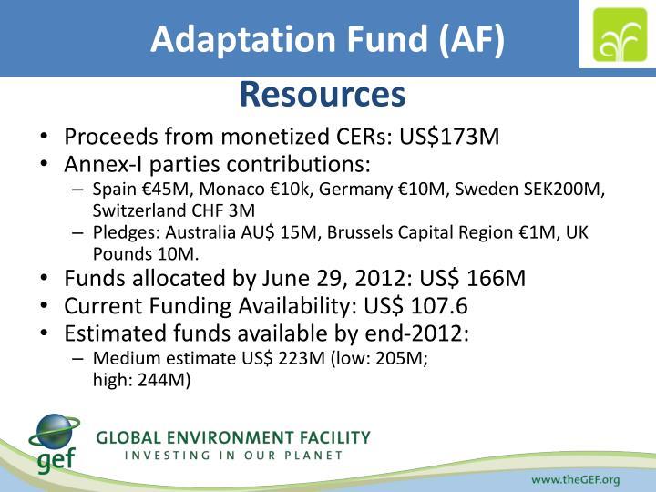 Adaptation Fund (AF)