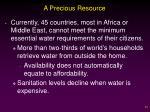 a precious resource