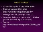 ga ust fun facts