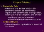 inorganic pollutants1