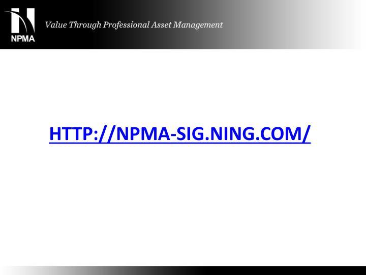 http://npma-sig.ning.com/