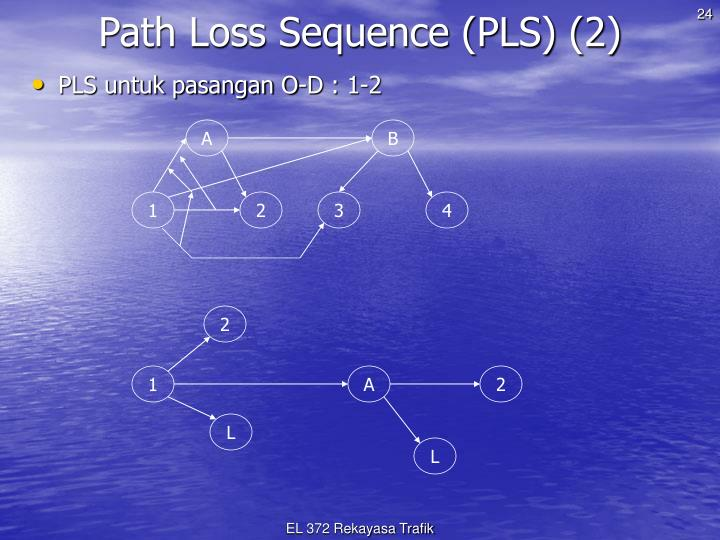 Path Loss Sequence (PLS) (2)