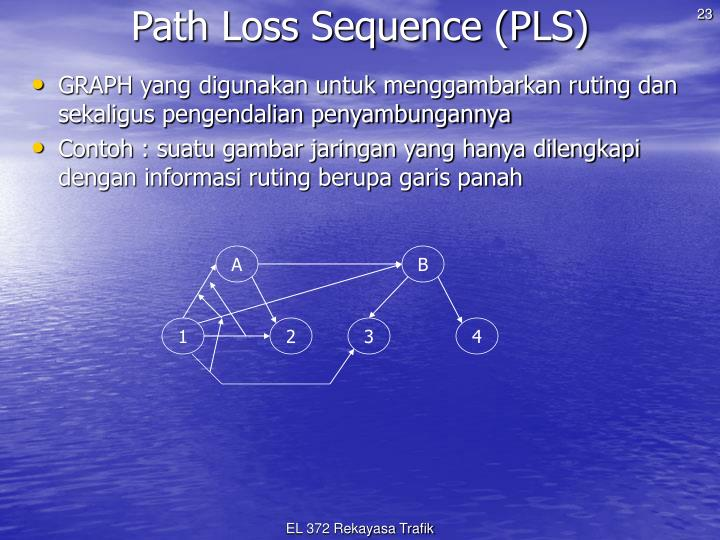 Path Loss Sequence (PLS)