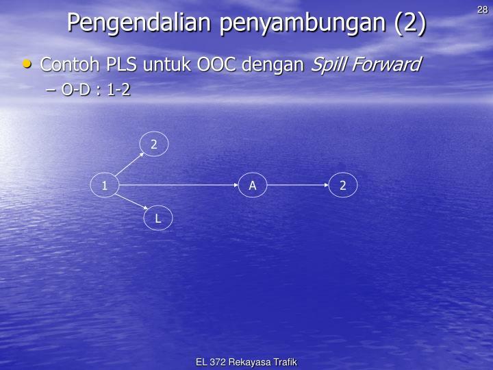 Pengendalian penyambungan (2)