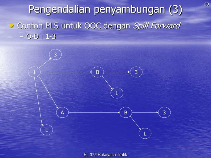 Pengendalian penyambungan (3)