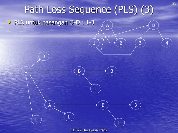 Path Loss Sequence (PLS) (3)