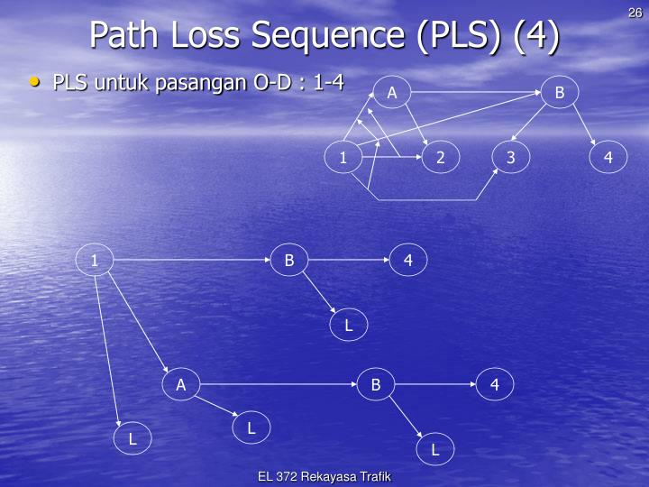 Path Loss Sequence (PLS) (4)