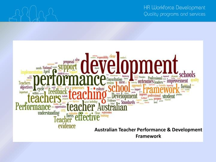 Australian Teacher Performance & Development