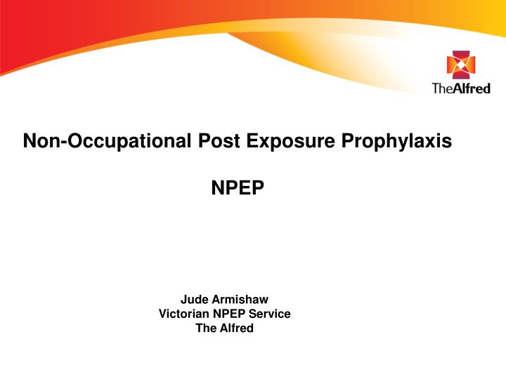 non occupational post exposure prophylaxis npep