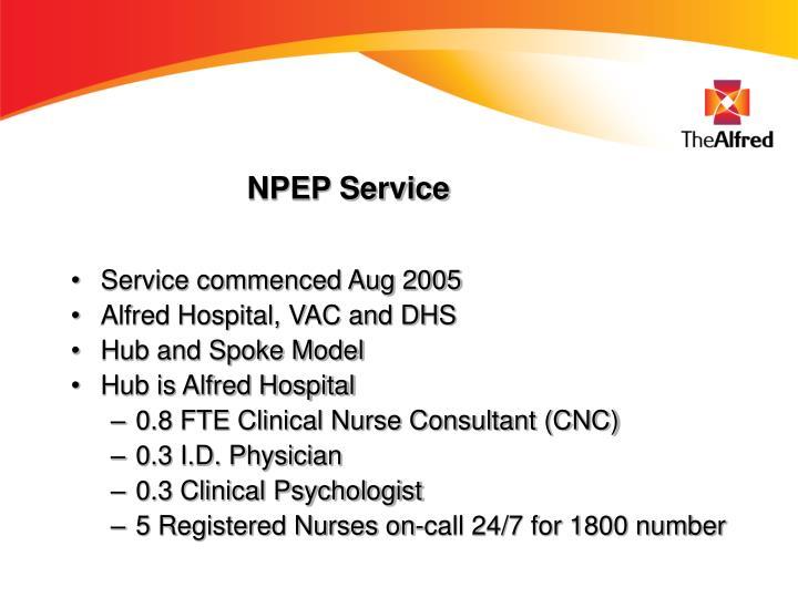 NPEP Service