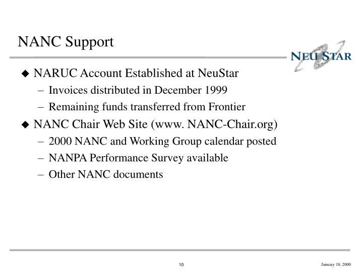 NANC Support