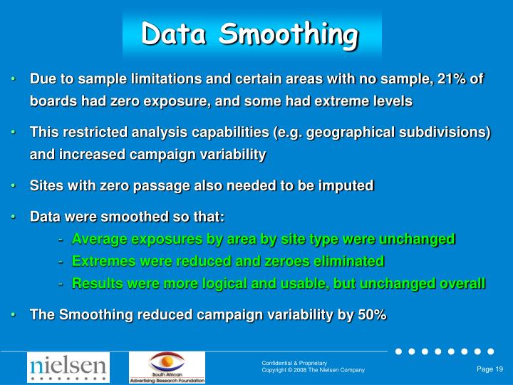 Data Smoothing