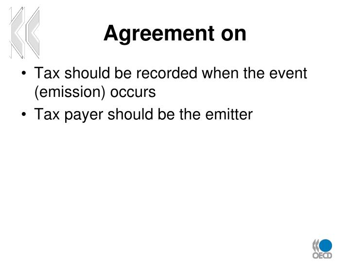 Agreement on