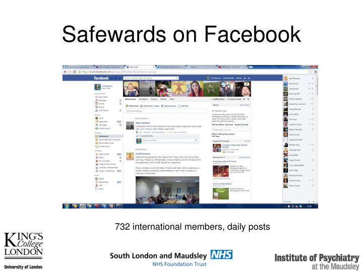 Safewards on Facebook