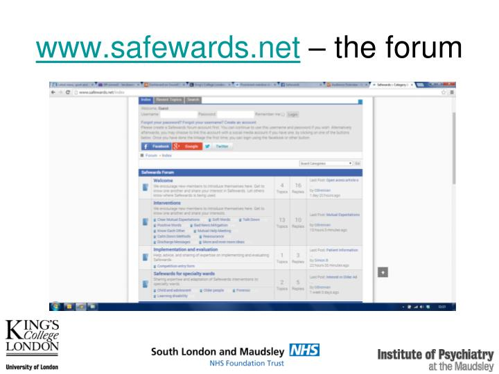 www.safewards.net