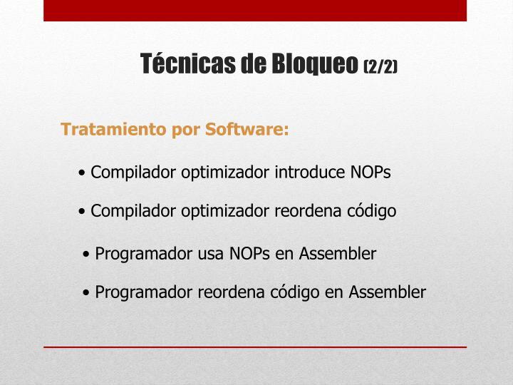 Tratamiento por Software: