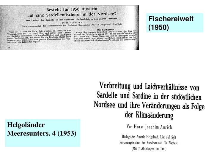 Fischereiwelt (1950)