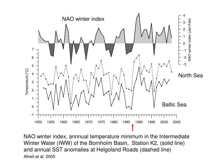NAO winter index