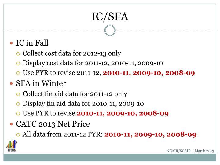 IC/SFA
