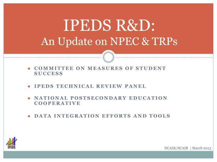 IPEDS R&D: