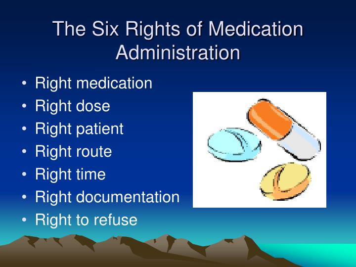 The Six Rights of Medication Administration