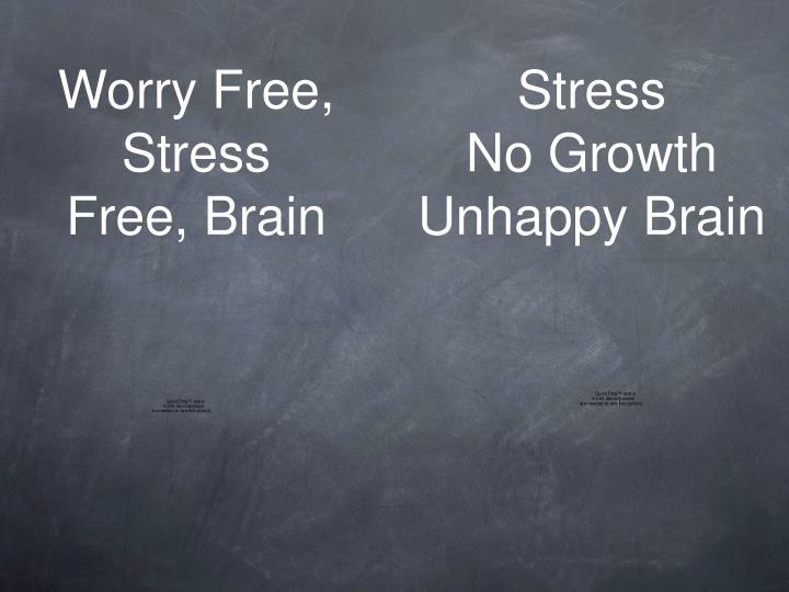 Worry Free, Stress