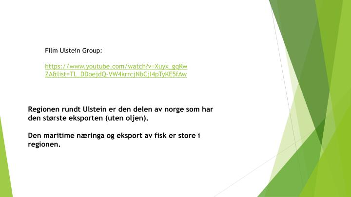 Film Ulstein Group: