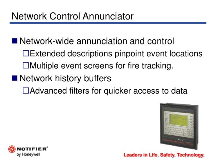 Network Control Annunciator
