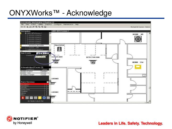 ONYXWorks™ - Acknowledge
