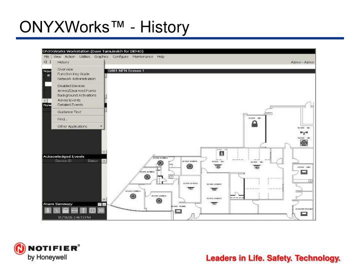 ONYXWorks™ - History